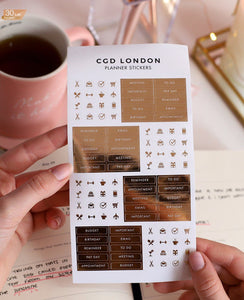 Daily Planning Stickers - CGD LONDON