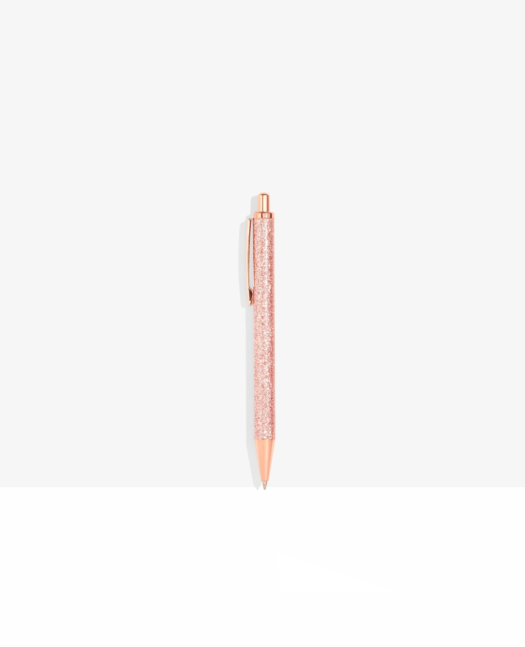Rose Gold Glitter Pen - CGD LONDON