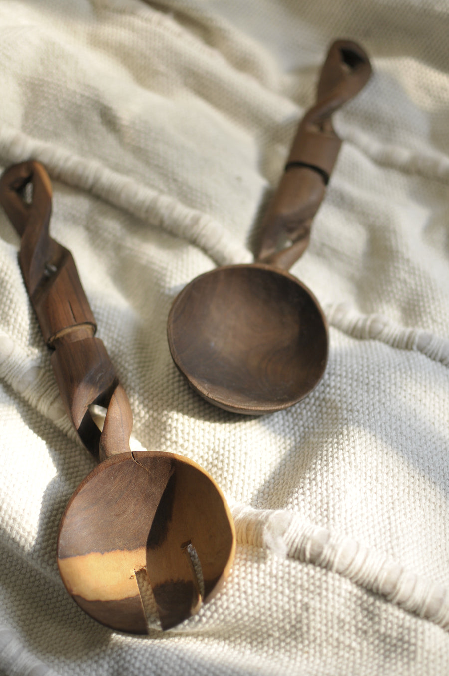 Swivel Salad Spoons