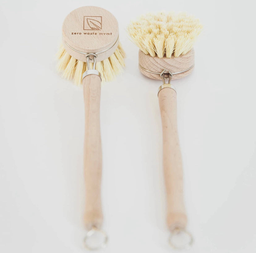 Wooden Dish Brush with Replacement Head