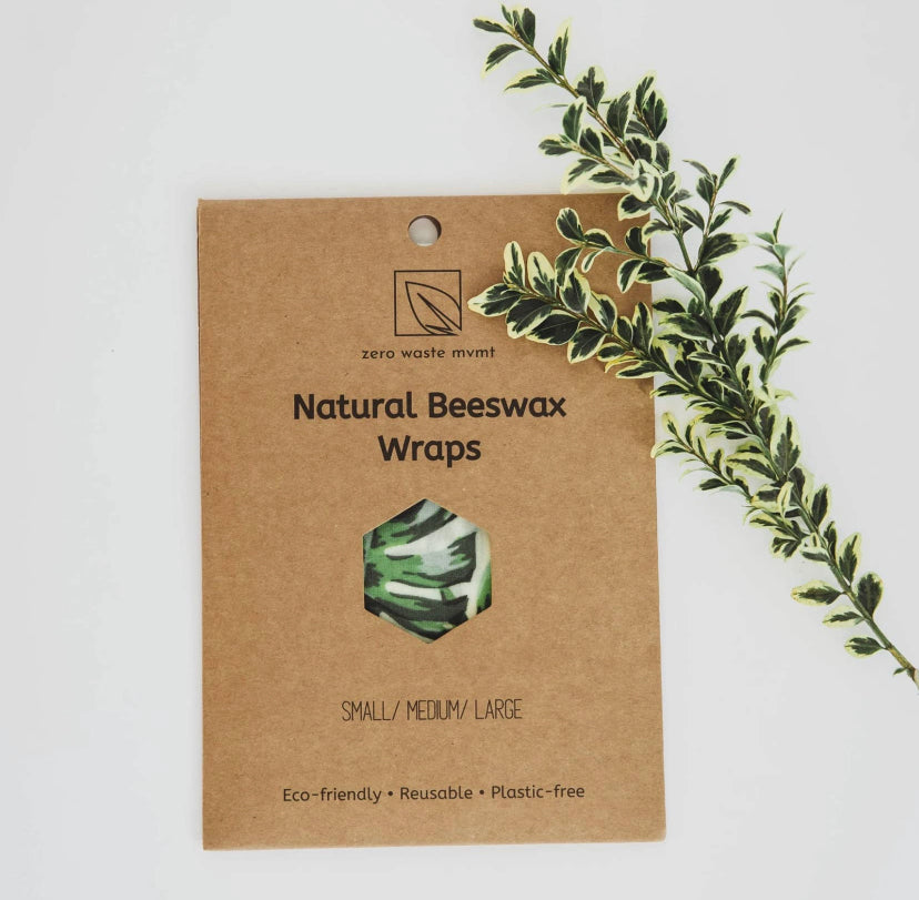Beeswax Food Wraps 3-Pack