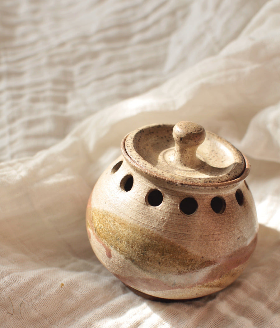 Ceramic Pot with Lid