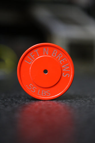 Bumper Plate Bottle Opener -Laser Etched Edition