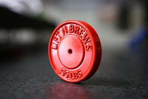 Bumper Plate Bottle Opener