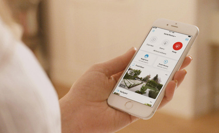 Easy home monitoring from your smart phone