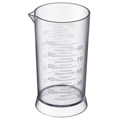 4oz. / 100mL - Measuring Cup | SNS-MEAS | SOFT N STYLE | SHSalons.com