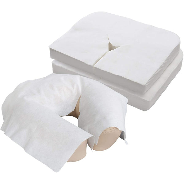 Medical-Grade Ultra Soft Disposable Face Cradle Covers(100/pack) | HUINI | SHSalons.com