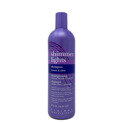 SHAMPOO | BLONDE & SILVER | SHIMMER LIGHTS | CLAIROL PROFESSIONAL | SHSalons.com