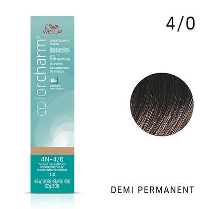 4N Medium Natural Brown | Demi-Permanent