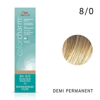 8N Light Natural Blonde | Demi-Permanent
