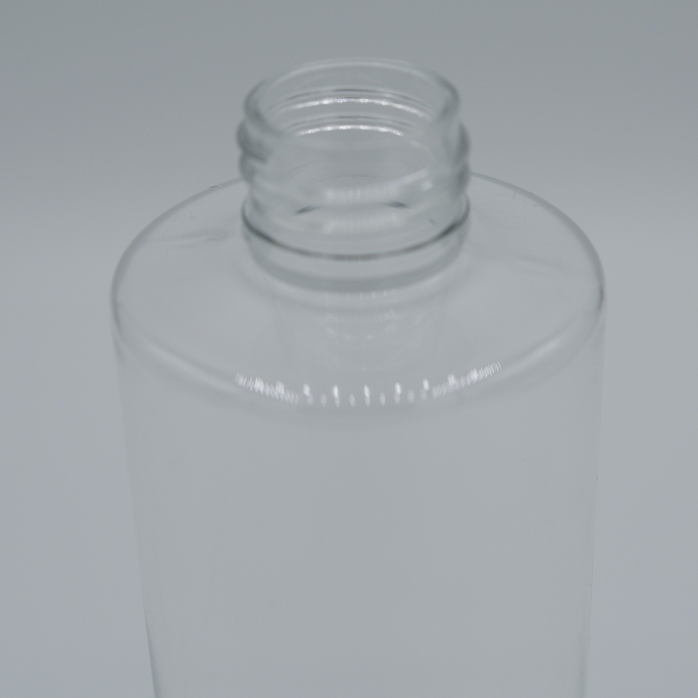 8oz| Clear Bottle | Neck Size 20/410 | Cylinder (360 PCS per Case) - SH Salons