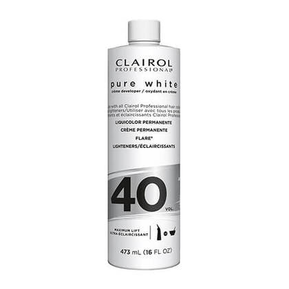 40 Volume Developer  | Pure White Creme | CLAIROL PROFESSIONAL | SHSalons.com