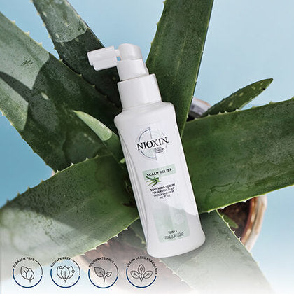Scalp Relief Soothing Serum for Sensitive, Dry and Itchy Scalp | NIOXIN | SHSalons.com
