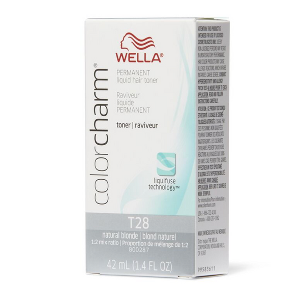 T28 Natural Blonde | 1.4 oz / 42ml | WELLA PROFESSIONAL | SHSalons.com