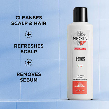 System 4 Cleanser Shampoo - SH Salons