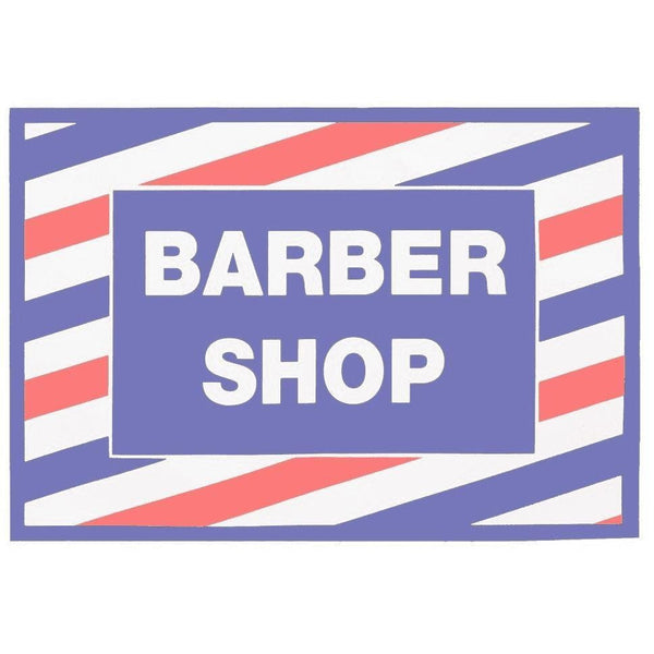 Barber Shop Cling Decal Sticker | SC-9014 | SCALPMASTER | SHSalons.com