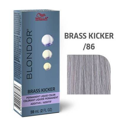 Blondor Permanent Liquid Brass Kicker Additive /86 HAIR COLOR WELLA PROFESSIONAL