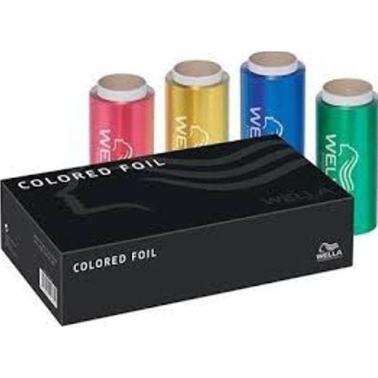 Aluminum Foil Set - 4 Colors | WELLA PROFESSIONAL | SHSalons.com