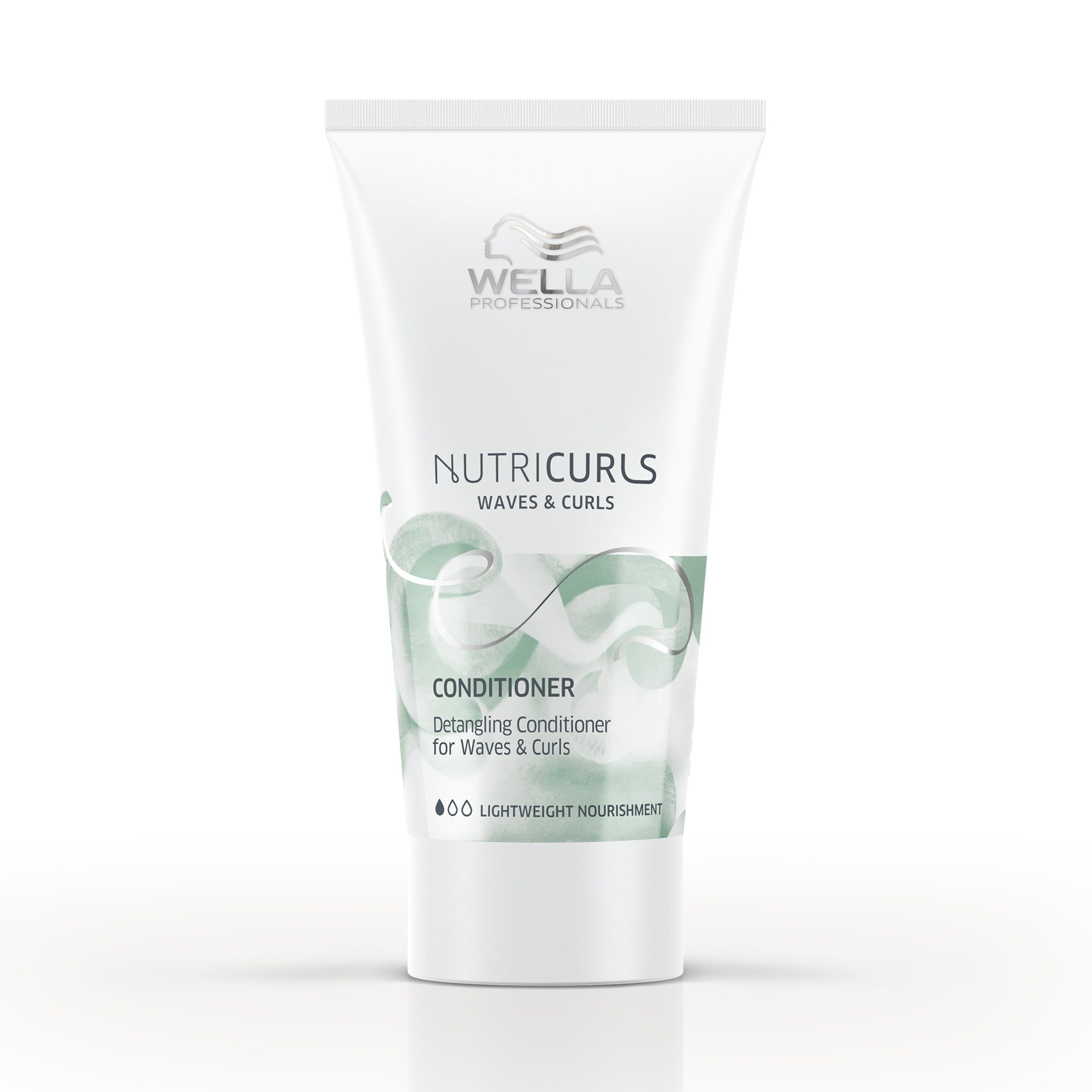 Detangling Conditioner For Waves & Curls | NUTRICURLS | WELLA PROFESSIONAL | SHSalons.com