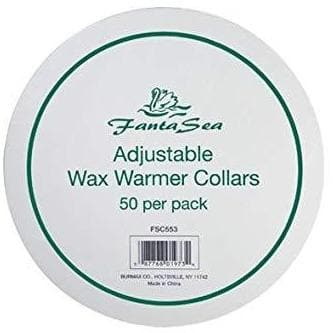 Adjustable Wax Warmer Collars | 50 Psc | FANTASEA COSMETICS | SHSalons.com