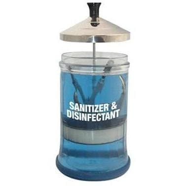 Glass Sanitizing Jar - SH Salons