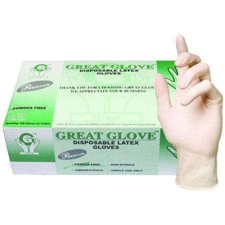 Disposable Gloves | Latex | Great Glove - SH Salons
