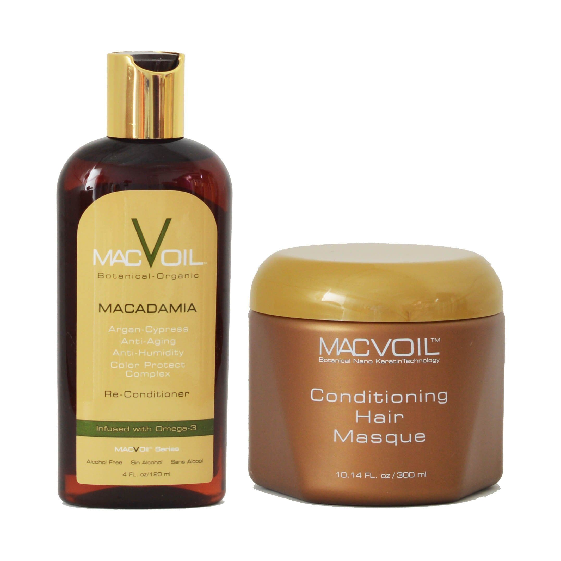Hair Oil + Conditioning Hair Masque | MACVOIL | SHSalons.com