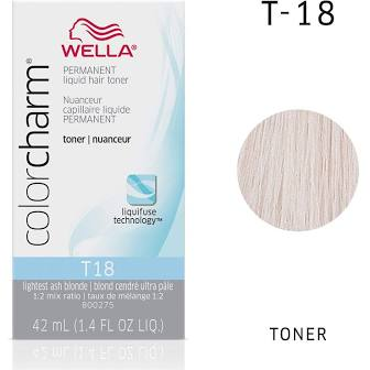 T18 Lightest Ash Blonde | 1.4 oz / 42ml | WELLA PROFESSIONAL | SHSalons.com