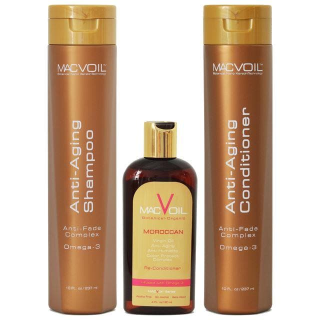 Macvoil Gift Set with Moroccan Oil SHAMPOO AND CONDITIONER MACVOIL 10oz bottle