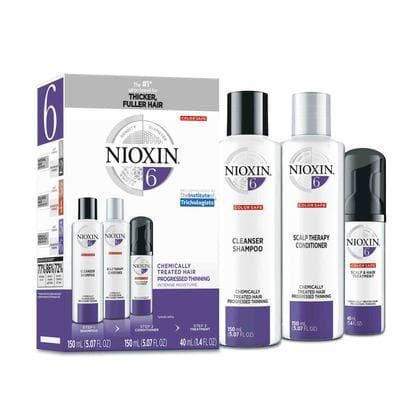 Nioxin System 6 Trio SHAMPOO AND CONDITIONER NIOXIN Trial Kit System