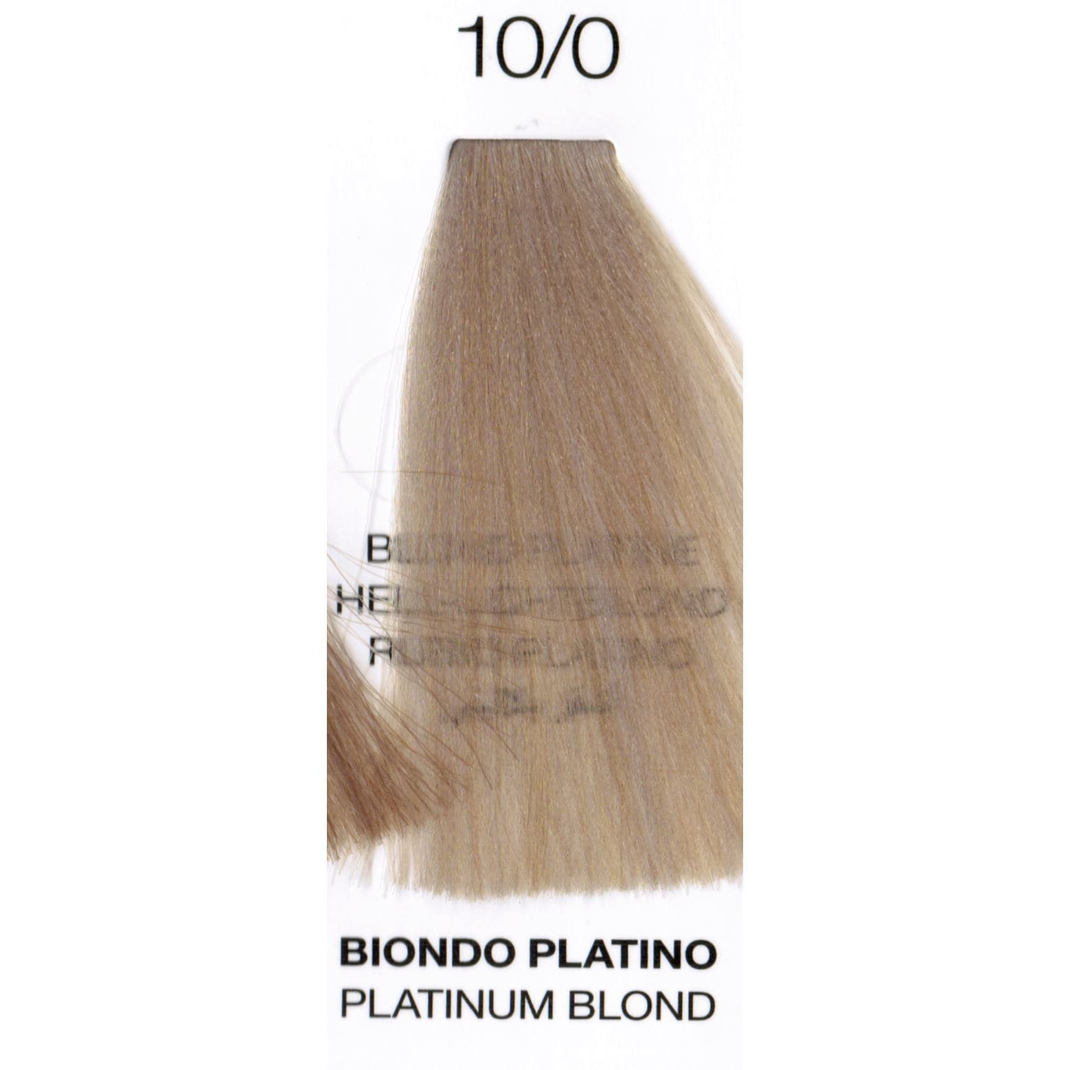 10/0 Platinum Blonde | Purity | Ammonia-Free Permanent Hair Color - SH Salons