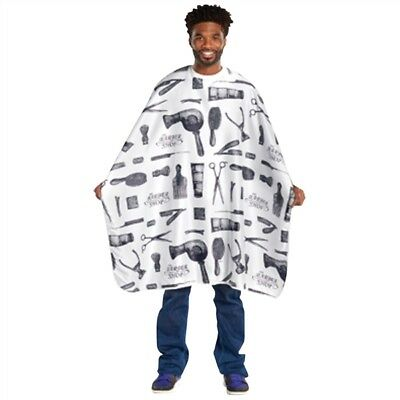 Barber Print Styling Cape | 4132 | SCALPMASTER | SHSalons.com