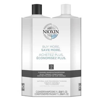 System 2 Cleanser and Conditioner Liter Duos - SH Salons