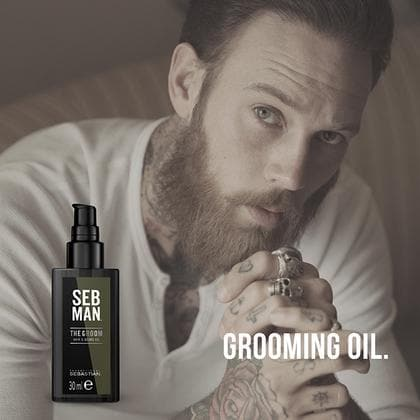 The Groom, Men's Hair & Beard Oil | SEB MAN | SEBASTIAN | SHSalons.com