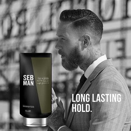 The Player, Men's Medium Hold Gel | SEB MAN | SEBASTIAN | SHSalons.com
