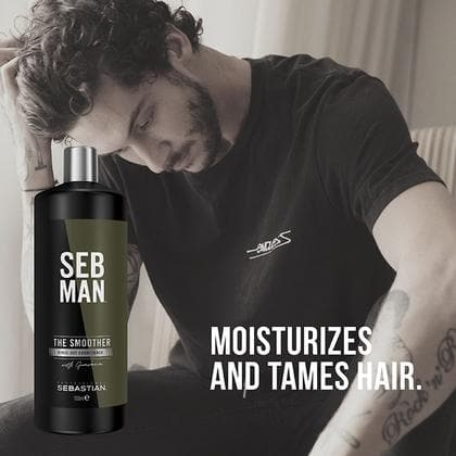 The Smoother, Men's Hair Conditioner | SEB MAN | SEBASTIAN | SHSalons.com