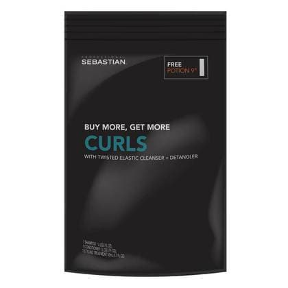 Twisted Curl Elastic Shampoo and Conditioner Liter Duos - FREE Potion 9 (1.7oz) | SEBASTIAN | SHSalons.com