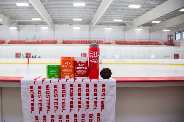 BioSteel is quickly becoming NHL players' drink of choice during games