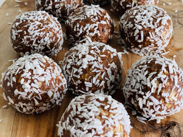 Chocolate Peanut Butter Cup Protein Balls