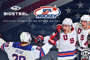 USA Hockey Signs BioSteel Sports Nutrition To Multi-Year Partner Agreement