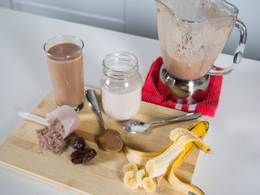 BioSteel's Salted Chocolate Caramel Shake
