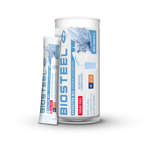 HYDRATION MIX TUBE / White Freeze - 12 Servings
