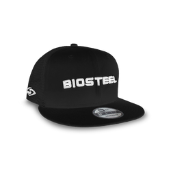 BioSteel New Era Adult Black Mesh Snapback