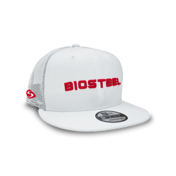 BioSteel New Era Adult White Mesh Snapback