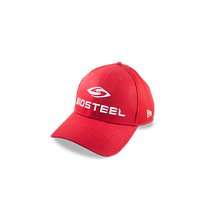 BIOSTEEL NEW ERA 39THIRTY HAT - Red