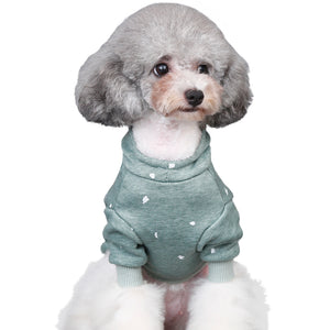 Casual Fleece Dog Hoodie