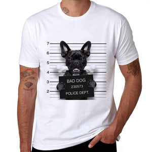 Bad Dog French Bulldog Men's T-Shirt
