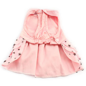 Pink Starry Dog Dress