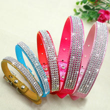 Bling Diamante Rhinestone Dog Collar