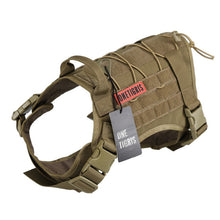 OneTigris Tactical Service Vest Dog Harness